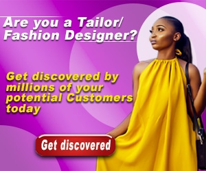 Are you A Tailor or Fashion Designer Get DIscovered by your Customers