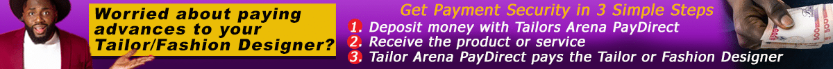 Tailors Arena PayDirect Banner