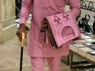 complete with agbada