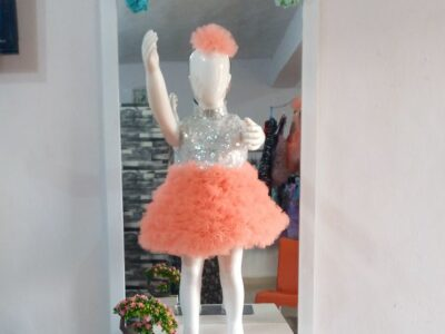 Cute cupcake dress for a year old