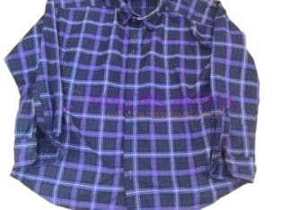 Well accomodating checkered shirt with nice wool