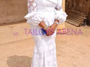 women's skirt and blouse lace